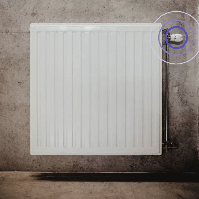 BlueRange Heater Radiator